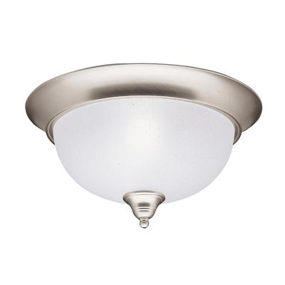 Kichler Lighting 8064NI Dover™ 2 Light Flush Mount Brushed Nickel