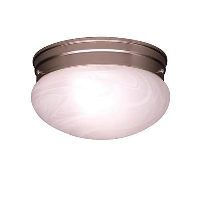 "Kichler Lighting 8209NI Ceiling Space 9.25"" Flush Mount Brushed Nickel"