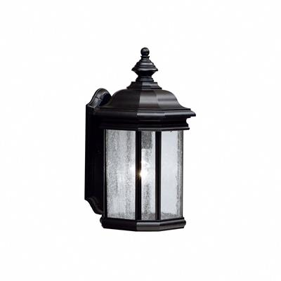 Kichler Lighting 9029BK Outdoor Wall 1Lt