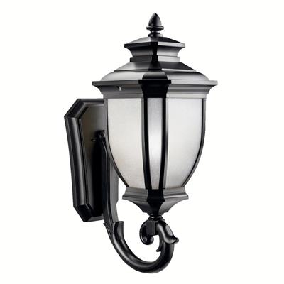 Kichler Lighting 9043BK Outdoor Wall 1Lt