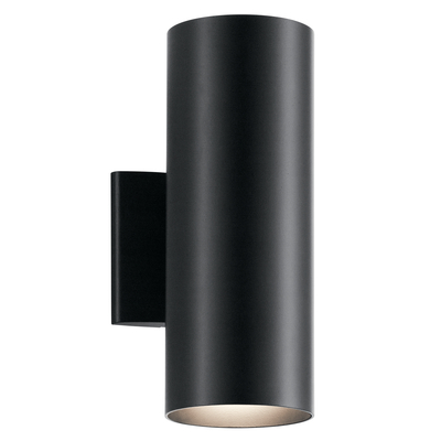 Kichler Lighting 9244BK Indoor/Outdoor Wall 2Lt