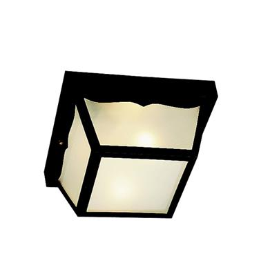 Kichler Lighting 9322BK Outdoor Ceiling 2Lt