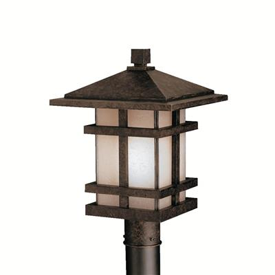 Kichler Lighting 9529AGZ Outdoor Post Mt 1Lt