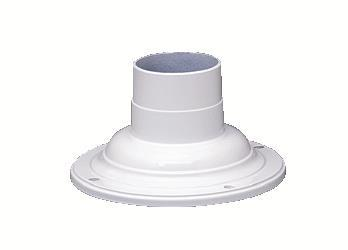 Kichler Lighting 9530WH Accessory Pedestal Adaptor