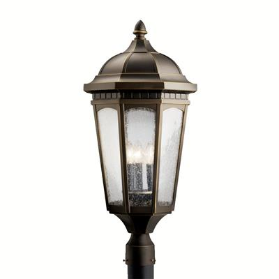 Kichler Lighting 9533RZ Outdoor Post Mt 3Lt