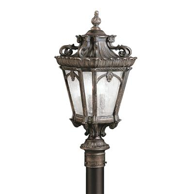 "Kichler Lighting 9559LD Tournai™ 30"" 4 Light Post Light Londonderry™"