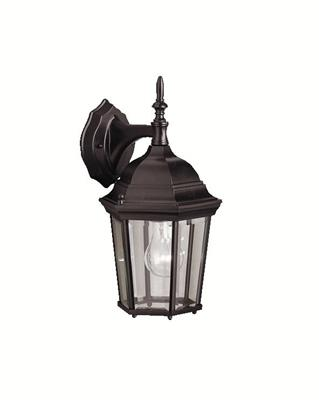 Kichler Lighting 9650BK Outdoor Wall 1Lt