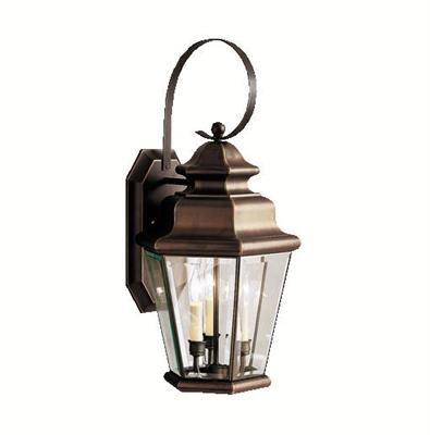 Kichler Lighting 9677OZ Outdoor Wall 3Lt