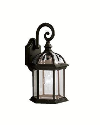 Kichler Lighting 9735BK Outdoor Wall 1Lt
