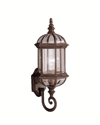 "Kichler Lighting 9736TZ Barrie 21.75"" 1 Light Wall Light Tannery Bronze"