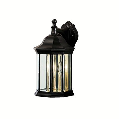 Kichler Lighting 9777BK Outdoor Wall 3Lt