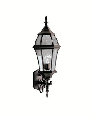 Kichler Lighting 9791BK Outdoor Wall 1Lt