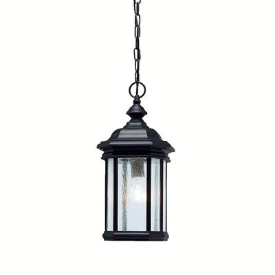 Kichler Lighting 9810BK Outdoor Pendant 1Lt