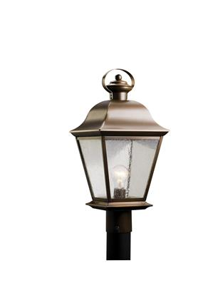 Kichler Lighting 9909OZ Outdoor Post Mt 1Lt