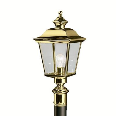 Kichler Lighting 9913PB Outdoor Post Mt 1Lt