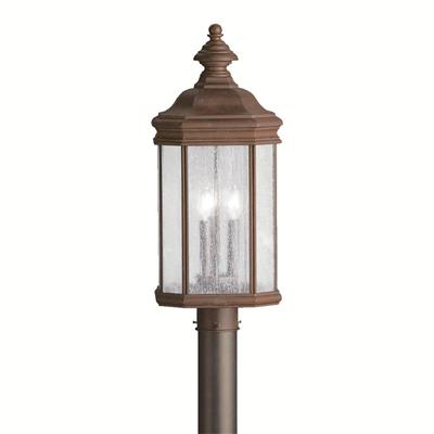 Kichler Lighting 9918TZ Outdoor Post Mt 3Lt