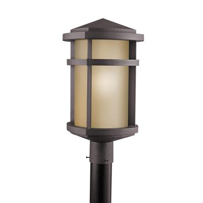 Kichler Lighting 9967AZ Outdoor Post Mt 1Lt